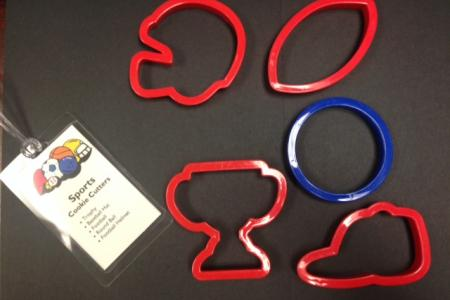Sports Cookie Cutters